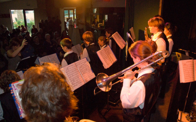 kk high school jazz band